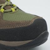 Кожа горячего сбывания неподдельная Hiking ботинки напольных спортов ботинок