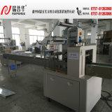 Máquina grande del paquete del flujo de la envoltura del pan Zp480