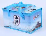 Sacchetto di Tote isolato laminato non tessuto esterno del regalo dell'alimento del dispositivo di raffreddamento del pranzo