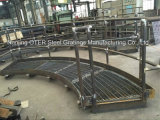 Aangepaste Steel raspen Platform for Industrial Project