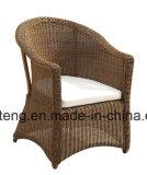 Balcão ao ar livre da mobília do jardim do Rattan redondo pequeno de Sythetic ajustado pela tabela do &Ottoman&Side de Cadeira (YT291)