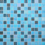 20*20mm Swimmingpool-Glasmusivgold-Zeile Mosaik