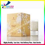 Rectángulos de regalo de papel plegables de empaquetado al por mayor del fabricante para las velas