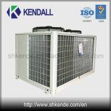 Halbhermetische niedrige Temperatur-Luft abgekühltes kondensierendes Gerät