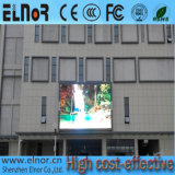 Pantalla a todo color al aire libre de la consumición P10 LED de las energías bajas