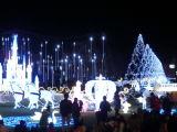 متنزّه عطلة مادة [لد] قصر ضوء عيد ميلاد المسيح زخرفة خارجيّة