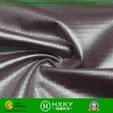 Dobby de la burbuja con la tela hecha punto elástico de capa de la PU para la chaqueta ocasional