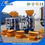 Machine de fabrication de brique Qt4-24 concrète semi automatique