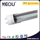 Transparante Cover 1.2m 18W LED T8 Tube