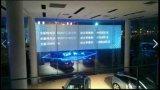 Instalación auta-adhesivo de la película del LCD para el Car Show de BMW