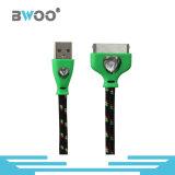 Neuester bunter Blitz Mikro-USB-Daten-Kabel
