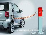 Nuevo vehículo eléctrico de la energía (EV) que carga el cable espiral