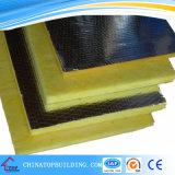 Couverture de fibres de verre avec le papier d'aluminium desserré pour le toit et le mur