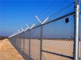 Galvanisierter Kettenüberzogener Kettenlink-Zaun des link-Zaun-/Kurbelgehäuse-Belüftung