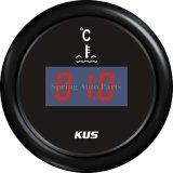 """température Gauge Meter 25-120 de 2 """" 52mm Digital de l'eau avec Backlight"""