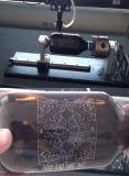 50W de Graveur van Laser mini-6040 met Roterend voor de Koppen van Flessen