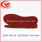 Самая последняя подошва способа обуви людей Outsoles синтетической резины