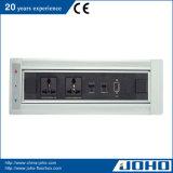 De Tik van het aluminium op Contactdoos van het Bureau van het Type van Contactdoos van de Schakelaar de Roterende Elektrische