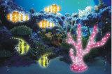 La chaîne de caractères solaire imperméable à l'eau de DEL allume la décoration à la maison de jardin