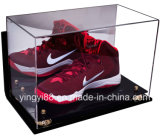 Boîte à écran tactile acrylique personnalisée pour chaussures de basketball, crampons de football avec protection UV