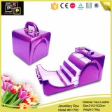 Olá! Pink Hot Selling Hand - Fashion feito Jewelry Box (8117)