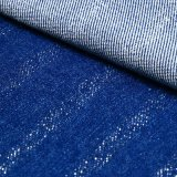Blaues Cotton Viscose Polyester Spandex Denim Fabric für Jeans