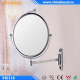 Miroir fixé au mur cosmétique décoratif magique en laiton de chrome de Beelee