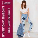 Form-neue Entwurfs-Mädchen-Denim-Jeans (L458)