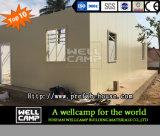 Casa de campo Prefab modular simples do painel de sanduíche da classe elevada