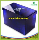 Cadre acrylique de cas d'exposition de premier de pente d'espace libre cadeau de plexiglass pour l'exposition