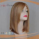 Abrir la peluca respirable barata de las mujeres del pelo humano de las tramas brevemente (PPG-c-0088)