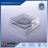 La radura & il colore hanno lanciato lo strato acrilico di plastica del plexiglass acrilico della scheda PMMA