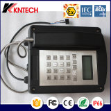 Téléphone extérieur Knex1 Kntech de téléphone anti-déflagrant