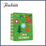 4c drukte het Winkelen van de Verpakking van Kerstmis van het Met een laag bedekte Document de Zak van het Document van de Gift af