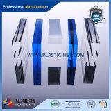 Feuille acrylique à barrière acoustique à forte résistance à l'impact Longtemps non jaunâtre