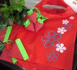 EcoのFoldable記憶のハンドバッグのいちごのショッピング・バッグ