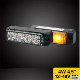 4W 플러드 광속 비상사태를 위한 호박색 색깔 스트로브 섬광 빛 경고등 LED Lightheads