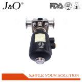 Válvula de diafragma sanitaria del acero inoxidable con el actuador neumático