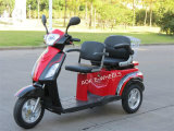 Hot Sale 500W/700W Deluxe Electric Tricycle with Double Saddles