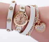 직접 최고 호리호리한 손목 숙녀 시계, 여자 시계를 판매하는 Yxl-814 공장