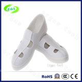 Удобные ботинки холстины PVC белые ESD противостатические, вскользь ботинки (EGS-603)