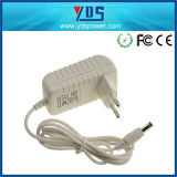 5V 1.2A de EU Wall Plug Adapter met White Color