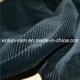 100%Polyester выбило Flocking связанная ткань для софы/мебели