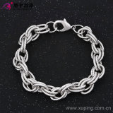 Environmental Copper 73949のXuping Fashion Luxury Rhodium Color Neutral Men Bracelet