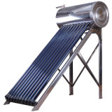 Calentador de agua caliente solar a presión compacto del tubo de calor