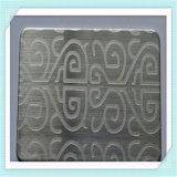Configuration de marbre peignant la feuille décorative d'acier inoxydable (MP007)