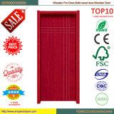 Rumänien-Markt moderne PVCaußen-MDF-Tür