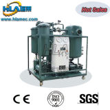 Máquina do filtro de óleo da turbina do vácuo elevado