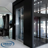 개인적인 집 주거 전송자 유리제 소형 가정 작은 엘리베이터를 드십시오