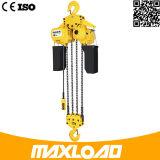10 Ton polipasto eléctrico de cadena con gancho fijo Tipo (HHBB10-04SF)
